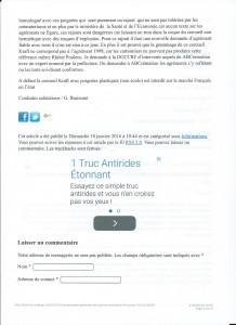 Magazine Funéraire ACEC - Plainte DGCCRF0002